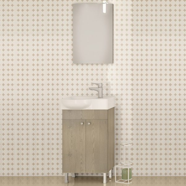 Έπιπλο μπάνιου Drop Litos 45 PL Wood R