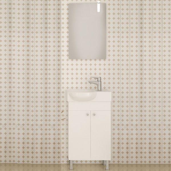 Έπιπλο μπάνιου Drop Litos 45 White