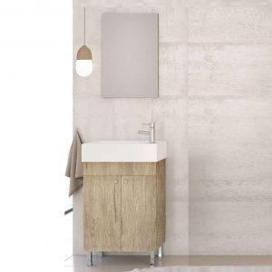 Έπιπλο μπάνιου Drop Litos 50 PL Wood