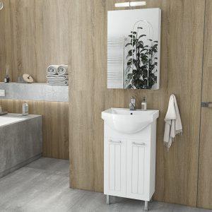 Έπιπλο μπάνιου Drop Ritmo 45 White