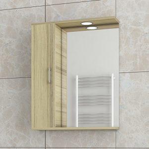 Καθρεφτης Μπάνιου Drop Ritmo Natural Oak