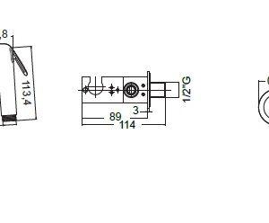 Σύστημα μπιντέ χειρός Flush 1 e136004