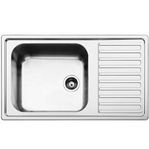 Ανοξειδωτος νεροχυτης κουζινας Apell Anniversario 8110