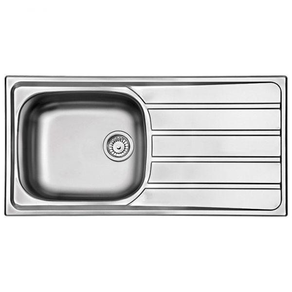 Ανοξειδωτος νεροχυτης κουζινας Apell Area 8215