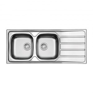 Ανοξειδωτος νεροχυτης κουζινας Apell Area 8216