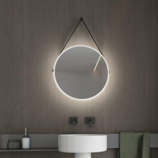 Φωτιζομενος Καθρεφτης Led Luminor Hung 45