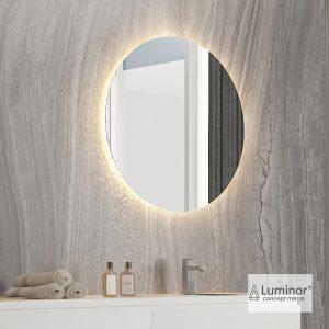Φωτιζομενος Καθρεφτης Led Luminor Idol