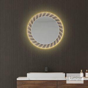Φωτιζομενος Καθρεφτης Led Luminor Sun 70