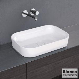 Επιτραπεζιος Νιπτηρας μπανιου Bianco Ceramica Centro 34060