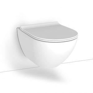 Κρεμαστη λεκανη Bianco Ceramica Remo Rimless RM11500SC-301
