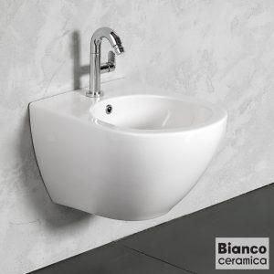 Κρεμαστο μπιντε Bianco Ceramica Remo RMB50