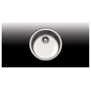 Apell 8400 Υποκαθήμενος Νεροχύτης Κουζίνας Ανοξείδωτος