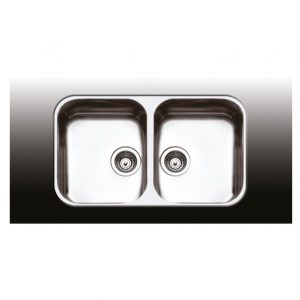Apell 8425 Ανοξείδωτος Νεροχύτης Κουζίνας Υποκαθήμενος