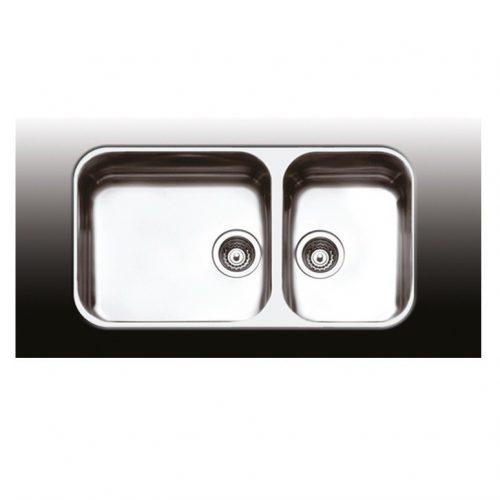Apell 8435 Ανοξείδωτος νεροχύτης κουζίνας υποκαθήμενος