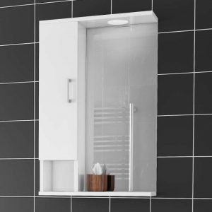 Alba 48x75 White - Καθρέπτης μπάνιου