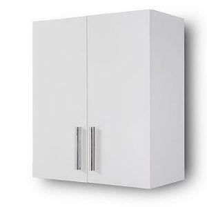 Alon White 60 Κρεμαστο Ντουλάπι Πλυντηρίου Λευκό
