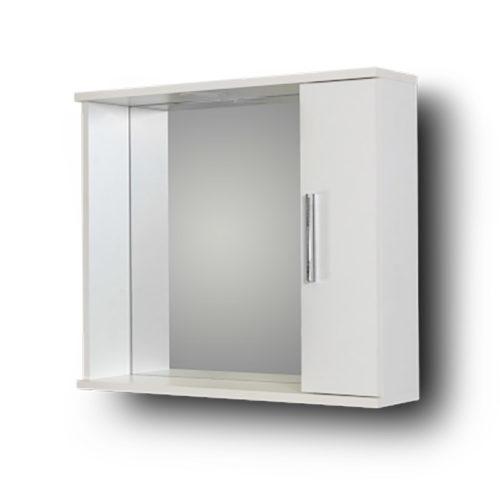 Καθρέπτης Μπάνιου Με Ντουλάπι Alon White 65R