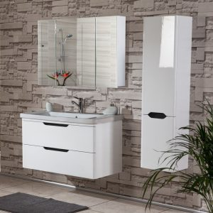 Bele 105 White Κρεμαστό έπιπλο μπάνιου