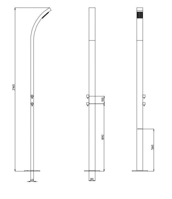 Bossini Arch Column L00861