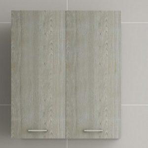 Κρεμαστό ντουλάπι μπάνιου Brown Oak 60