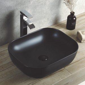 Μαύρος Νιπτήρας Επιτραπέζιος Ceramita Encore Black