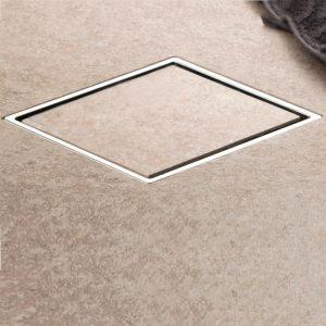Τετράγωνο Σιφώνι Δαπέδου Confluo Large