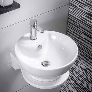Νιπτήρας μπάνιου Diamante White