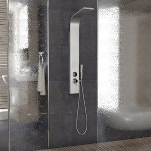 Στήλη Υδρομασάζ 3 Εξόδων Drop Shower System