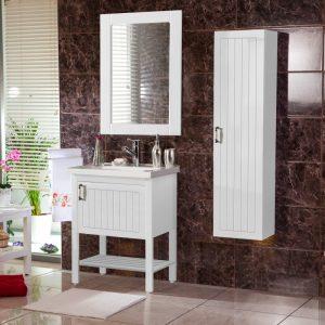 Efe 60 White Έπιπλο Μπάνιου Vintage