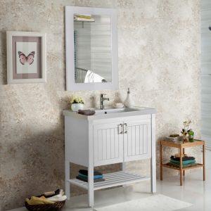 Efe 80 White Έπιπλο Μπάνιου Vintage
