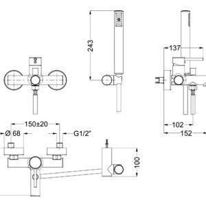 Eurorama Tonda 145210