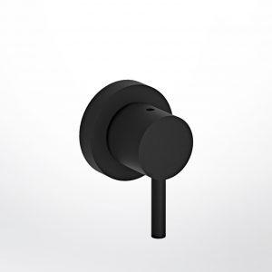 Eurorama Tonda R4751 Black Matt - Εκτροπεας 3 εξοδων