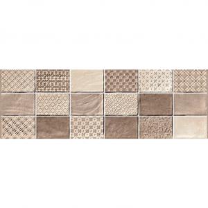 Πλακάκι Μπάνιου Και Κουζίνας Fabric Mosaico Crema 20x60