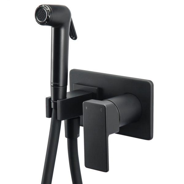 Μαύρο Ντουζ Μπιντέ Flush Mix Profili 45211 Black