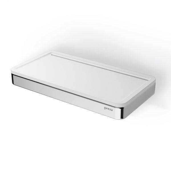 Geesa Frame Chrome White Matt 8804-300 Εταζέρα