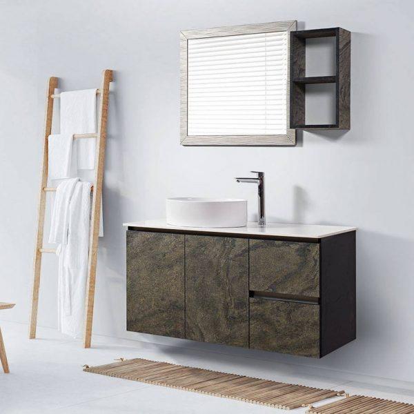 Έπιπλο μπάνιου από φυσική πέτρα Genoa 120