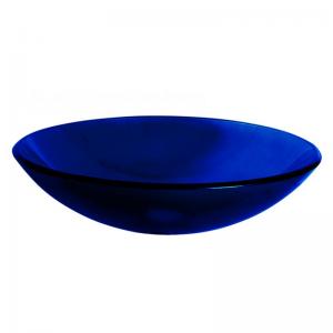 Μπλέ Γυάλινος Νιπτήρας - Gloria Cobalt Blue 66-0005