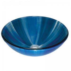 Γυάλινος Νιπτήρας Μπλέ Gloria Dia Glass Blue Sky 66-8306