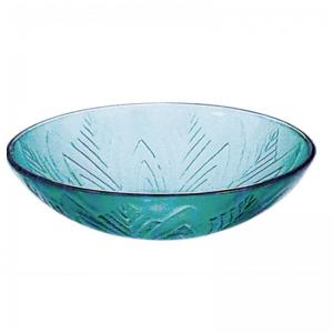 Γυάλινος Νιπτήρας Gloria Dia Glass Green 67-8069