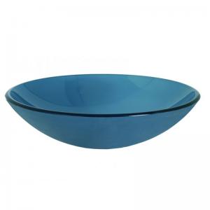 Επιτραπέζιος Γυάλινος Νιπτήρας - Gloria Frosted Blue 66-0004