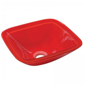 Κόκκινος γυάλινος νιπτήρας Gloria Glass Red 67-8538