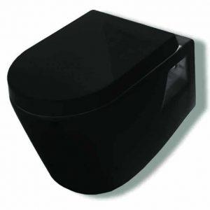 Κρεμαστή Λεκάνη Μαύρη - Huida Skay Black 38-0427
