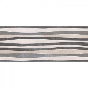 Iron Relieve Mix Titanio 20x50 Πλακάκι Μπάνιου Και Κουζίνας