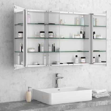 Karag Economy Ανοξείδωτος καθρέπτης μπάνιου