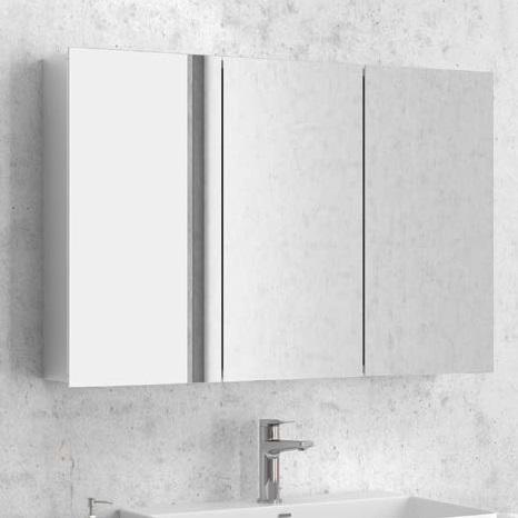 Ανοξείδωτος καθρέπτης μπάνιου Karag Economy