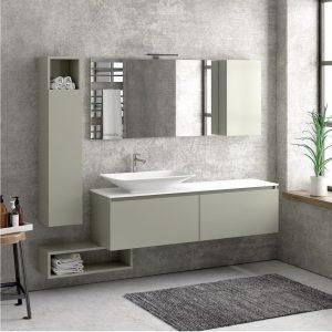Έπιπλο μπάνιου Karag Space Grigio Olio 155