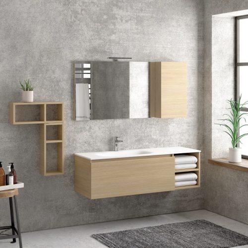 Έπιπλο μπάνιου Karag Space Oak 135