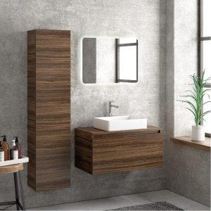 Έπιπλο μπάνιου Karag Space Olive 80