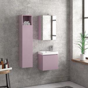 Έπιπλο Μπάνιου Karag Space Violette 45
