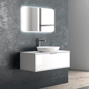Karag Super Bianco 100 Έπιπλο μπάνιου Karag Super Bianco 100